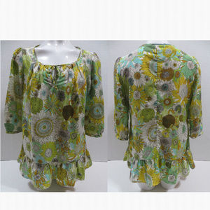 Liberty Of London for Target top Small sunflower